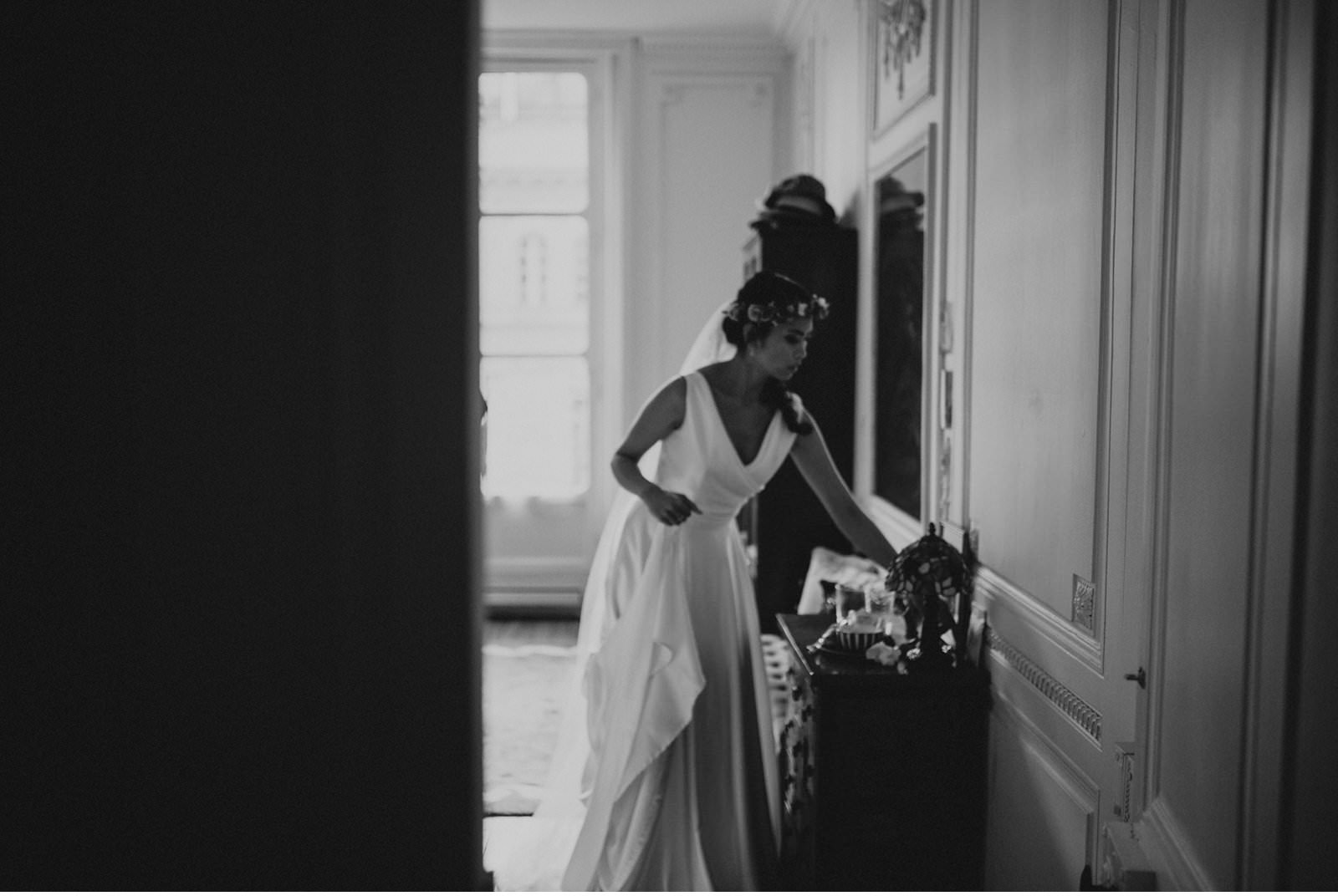 Paris American Church Wedding Catrache Photography